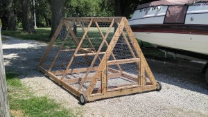 Portable Chicken Coup - Leavenworth County